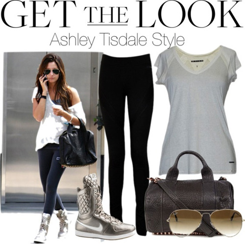 ashleytisdale activewear style