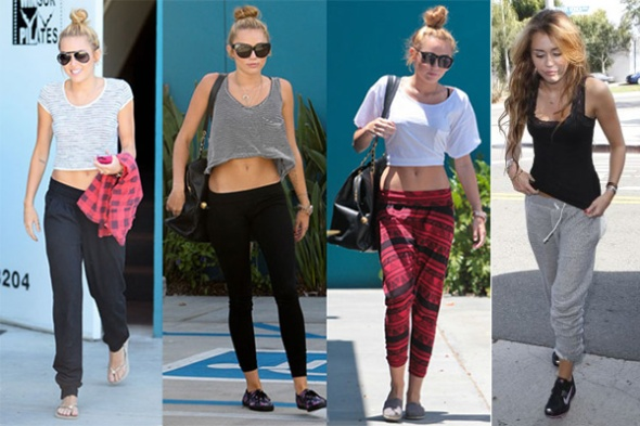 LOVE IT OR LEAVE IT: MILEY'S GYM STYLE