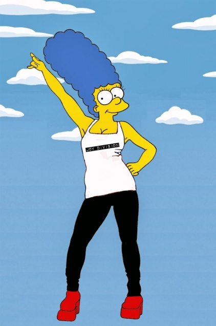 Marge Simpson Joy Division