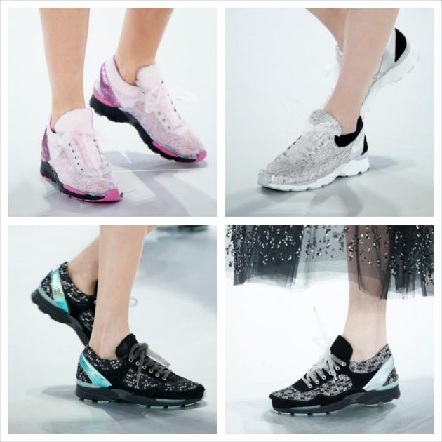 sneakers, zapatillas deportivas, haute Couture, sport, sportwear, Chanel