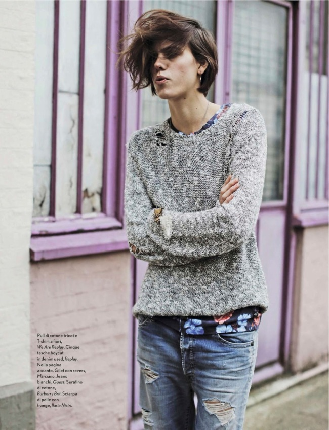 Street Style: Corinna Ingenleuf By Fanny Latour-Lambert For Amica February 2014