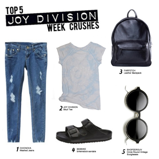Joy Division Fashion Favorites of the Week